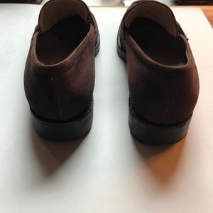 Gucci Shoes - Gucci Horse-bit Brown Suede Loafer